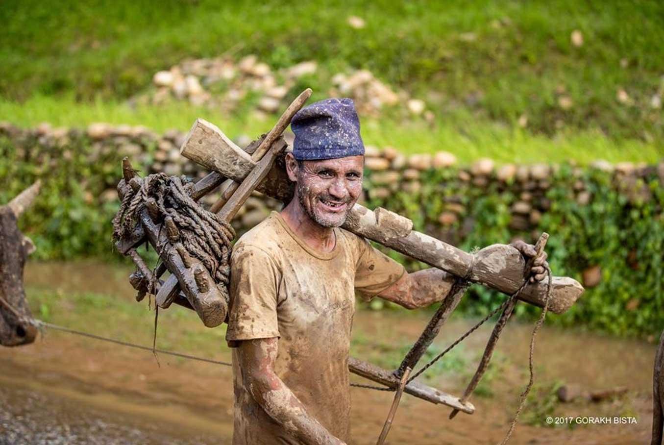 farmers of nepal